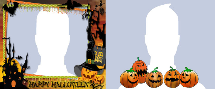 Happy Halloween Profile Picture Frame For Facebook - Profile Picture ...