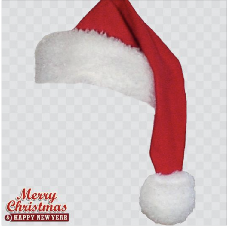 Christmas hat Profile Picture Frame - Profile Picture Frames for ...