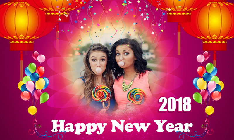 Happy New Year 2018 Frames - Profile Picture Frames for Facebook