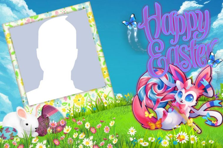 Happy Easter Eggs Profile Picture Frame - Profile Picture Frames for ...