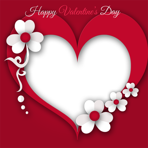 Valentine Photo Frame - Profile Picture Frames for Facebook
