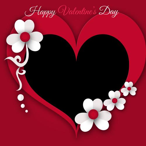 Heart Valentine Frames Profile Picture Frames For Facebook