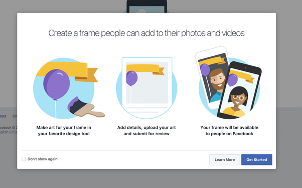 How to Create Facebook Frame - Profile Picture Frames for Facebook