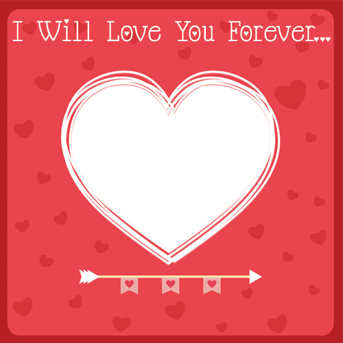 Valentine Day Frame for Profile Picture Frames - Profile Picture ...