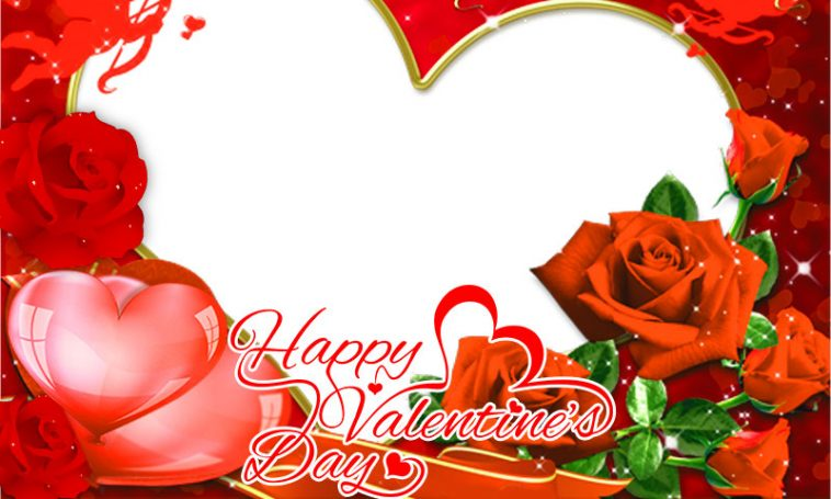 Happy Valentine\'s Day Profile Picture Frame - Profile Picture Frames ...