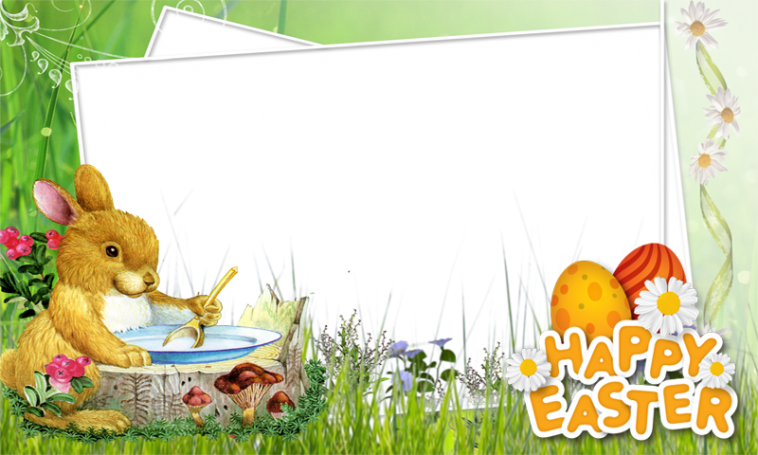 Happy Easter Photo Frame Overlay Filter - Profile Picture Frames ...