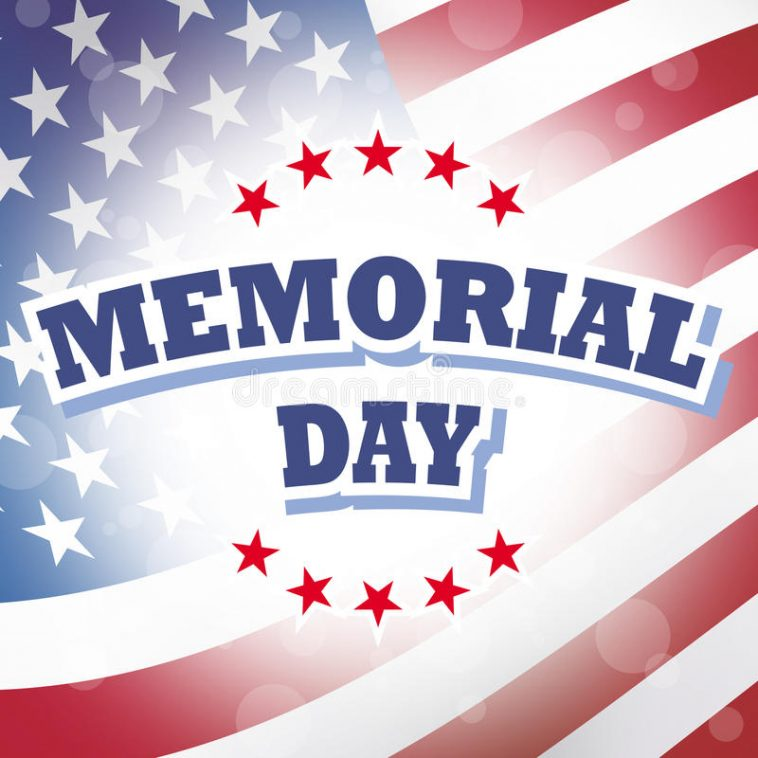 69afb87ac303 Happy Memorial Day 2018 – Facebook Profile Picture Frame Photo Filter – USA  America Flag
