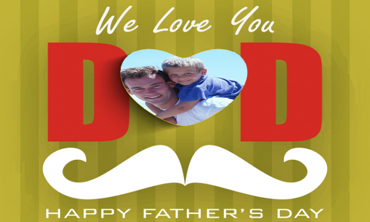 Happy Father\'s Day Frame - Facebook Dad Profile Picture Frame ...