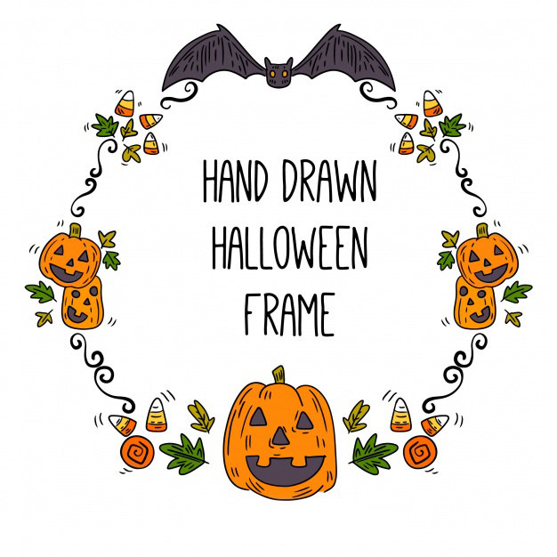 Halloween Frames Picture Images Origami Instructions