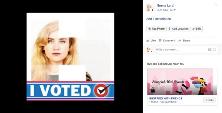 I Voted - I\'m Voting Facebook Profile Picture Frame FB Photo Frame ...