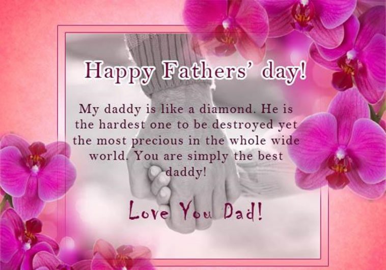 Fathers Day Wishes Greetings Quotes Cards 2019 for Facebook Images ...