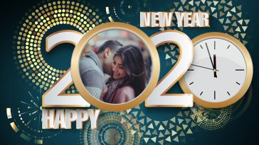 Happy New Year 2020 Frame Overlay Filter Images Photos Pictures