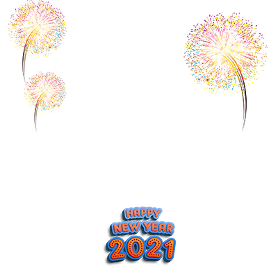 Happy New Year 2021 Frame