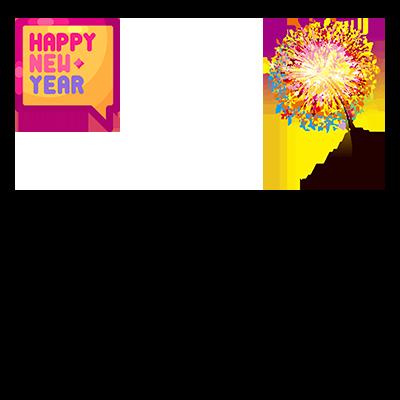 Happy New Year 2021 Frame
